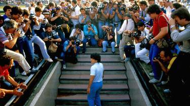 Filmen 'Diego Maradona' har premiere i næste uge.