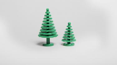 LEGOs træer bliver ikke længere lavet af olie, men af det mere bæredygtige bio-polyethylen. Men legetøjsvirksomheden har travlt med at finde et bæredygtigt materiale, der kan bruges til at skabe de klassiske, hårde LEGO-klodser.