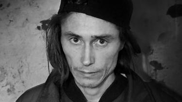 Forfatteren Claus Beck-Nielsen fotograferet, da han foregav at have hukommelsestab og gik på gaden som hjemløs.