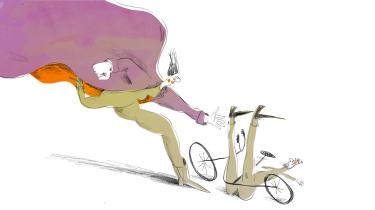 Når nogen vælter på cyklen eller snubler på gaden, sker det, at de forbipasserende blot fortsætter, som om intet var hændt. Vi må hanke op i os selv og stoppe med at lade vores medmennesker i stikken, skriver erhvervspsykolog Anna Birk i dette debatindlæg
