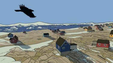 Morten Dürr og Lars Horneman, der stod bag den prisvindende 'Zenobia' fra 2016, er tilbage med en ny young adult-tegneserie, som tager fat på Grønlands sociale problemer