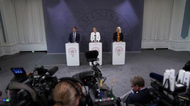 Mette Frederiksens regering har rykket grænsepælene for den vanemæssige accept af ethvert vink fra Washington, men det afdækker et vanskeligt dilemma
