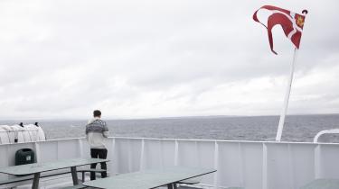 El-færgen Ellen udleder væsentligt mindre CO2 end dens dieseldrevne forgænger på ruten mellem Als og Ærø.