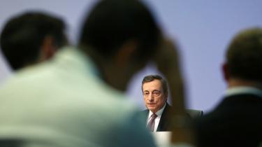 Torsdag sænkede Mario Draghi, den afgående chef for Den Europæiske Centralbank, endnu engang renten og genindførte sit engang så kontroversielle opkøbsprogram. Hans kommende arvtager Christine Lagarde flirter med tanken om at give hans aktive pengepolitik et grønt tvist. Det er åbenlyst rigtigt