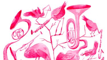 Musikken kom oprindeligt ind i verden med og båret af fuglenes stemmer. Derfor brugte Olivier Messiaen hele sit komponistliv på at få deres sang ind i menneskenes verden. Madame Nielsen har netop oplevet Messisaens fuglekatalog »Catalogue d'oiseaux« og blev ført med til  musikkens oprindelse
