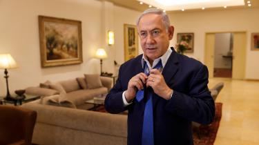 Da Netanyahu under valgkampen lovede at annektere Jordan-dalen og dele af Det Døde Havs nordkyst, tog de færreste det som andet en valgflæsk.