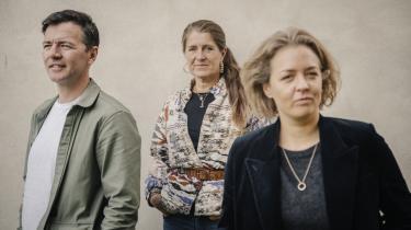 Lotte Svendsen (i midten), Oliver Zahle og Amalie Næsby Fick ønsker for børnefilmen, at det igen skal blive en lige så prestigefuld genre, som det var, da Nils Malmros og Bille August lavede de film, vi i dag betragter som klassikere.