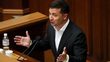 Den politiske imødekommenhed, som Uraines præsident Volodymyr Zelenskij udviser over for oligarken Ihor Kolomojskij, bekymrer i Ukraine, hvor korruption er et stort problem.