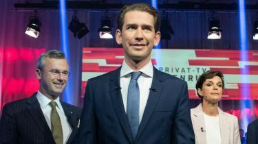 I 1975 fik de konservative og socialdemokraterne i Østrig tilsammen 93 procent af stemmerne. Nu får de godt halvdelen. Østrig opsummerer den store historie om europæisk politik lige nu: Om svindende partiloyalitet. Og om at karismatiske ledere i dag betyder mere end partier. Søndag går Østrig til valg
