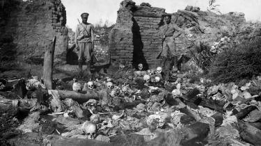 Det ville være betimeligt, hvis Jeppe Kofod som nyudklækket udenrigsminister tager det sidste og afgørende skridt, som så mange af vores allierede har gjort det, og officielt erkender og fordømmer det armenske folkedrab i stedet for at underlægge sig den tyrkiske regering, skriver dagens kronikør.