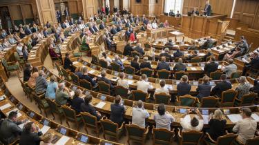 Det nye folketing, som her er samlet for første gang den 20. juni, er ikke noget særligt repræsentativt udsnit af den danske befolkning, da det står ringe til med erhvervserfaringen, skriver dagens kronikør.
