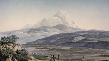 Andrea Wulf følger sin hovedperson på hans omfattende ekspeditioner, der gang på gang er ved at koste den nidkære opdagelsesrejsende livet. Intet synes at kunne stoppe den i øvrigt ret sart udseende lille mand, der helt bevidst udsætter sig selv for umenneskelige prøvelser som en del af udforskningskomplekset. Dette er en afAlexander von Humboldts egne skitser.