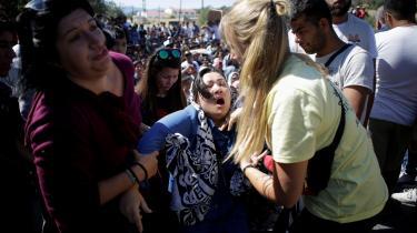 Sammenstød mellem asylansøgere og politi har sat fornyet fokus på forholdene i Maria-lejren.