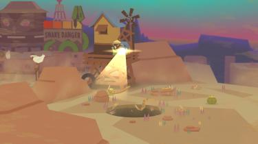 I 'Donut County' begynder hullet fra en donut pludselig at sluge sine omgivelser. I spillet er du hullet.