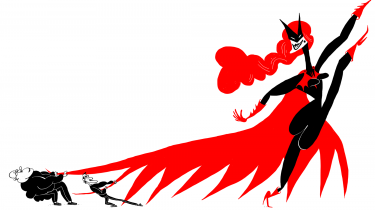 To modsatrettede strømninger i tegneseriemiljøet kæmper en blodig identitetspolitisk kamp: Én fraktion arbejder for større inklusion af kvinder, farvede og LGBTQ-personer. En anden modarbejder enhver forandring. En lesbisk Batwoman og en sort kvindelig Watchman – begge serieaktuelle – stjal billedet på årets tegneseriekonference New York Comic Con