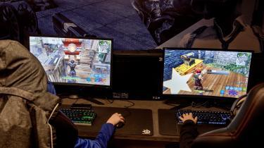 Det populære computerspil, Fortnite, brød i efterårsferien sammen i mere end 24 timer.