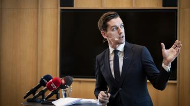 Boligminister Kaare Dybvad (S) præsenterede tirsdag en rapport om boligreguleringslovens paragraf 5, stk. 2.