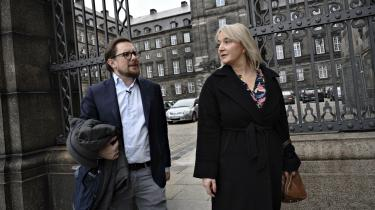 Partiet Fremads nyslåede partiledelse. Måske er de en moderne udgave af Misse og fru Fernando Møhge.