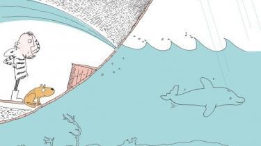 I Kenneth Steven og Øyvind Torseters 'Hvordan hunden fik sin våde snude' bringes den gamle fortælling om Noa og syndfloden op i nutiden med klimaforandringer og stigende have