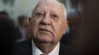 »Alle nationer bør erklære – allenationer – at atomvåben skal ødelægges. Det måske for at redde os selv og vores planet,« sagdeMikhail Gorbatjov i et interview med britiske BBC tirsdag i sidste uge.