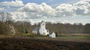 Landets menighedsråd administrerer samlet set vidtstrakte arealer, som i dag forpagtes bort til almindelig, konventionel landbrugsdrift med, hvad der deraf følger af forbrug af pesticider og gødning, skriver dagens debatør.