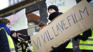 Den seneste uge har elever blokeret Filmskolen.
