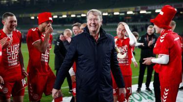 Martin Braithwaite scorede det enlige danske mål i opgøret i Dublin. Med uafgjort var Danmark sikret plads ved EM-slutrunden, og Åge Hareide kom et skridt nærmere sin eftertragtede rekord.