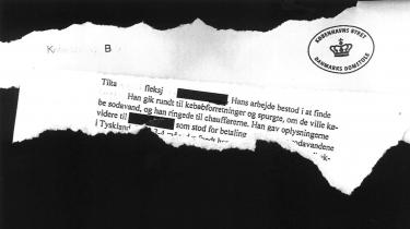 En svindelanklaget mand fik fleksjobydelse for at arbejde i et firma, der efterlod sig en milliongæld til det offentlige. Ifølge vidneforklaringer i Københavns Byret var firmaet kontrolleret af en dansk syrienkriger