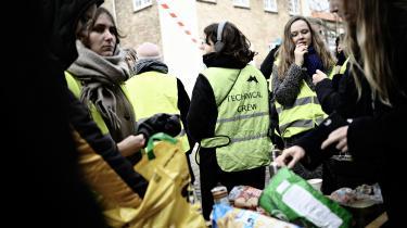 Elever fra filmskolen i København blokerede skolen tidligere i november, og rektor Vinca Wiedemann endte med at gå af.
