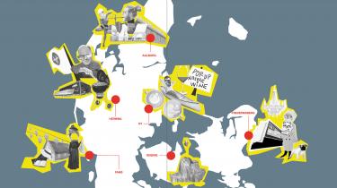 Boxen i Herning, københavnerenklaven i Ry, den åndelige hyggeindavl på Fanø, mindreværdskomplekserne i Odense og puddeldamerne på Frederiksberg er bare nogle af de overraskende indsatsområder på den nye ghettoliste