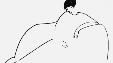 Anna Akhmatova tegnet af den italienske maler Amedeo Mogliani, som hun mødte i Paris.