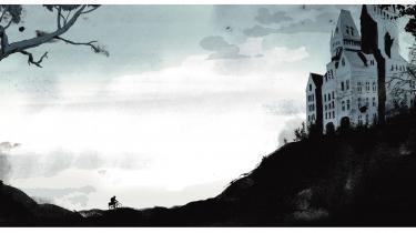 Centralt i rampelyset for Rasmus Meislers illustrerede udgave af Hanne Kvists børnebogsklassiker 'Drengen med sølvhjelmen', står det ulige- og overvægtige 'sidekick', Michum, der er tryggest på asfalt og i bodegaer. Illustratoren undgår dog ikke de slidte metaforer, og en Hanne Kvist-tekst kan faktisk skæres for meget
