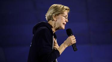 Det er let at misforstå Elizabeth Warrens forslag om at byde techgiganterne op som en form for venstrefløjspolitik. Det er det ikke. Der er snarere tale om en simpel gentagelse af den neoliberale overbevisning om, at velregulerede, konkurrencedygtige markeder vil sikre fremgang, skriverEvgeny Morozov fra The Guardian.