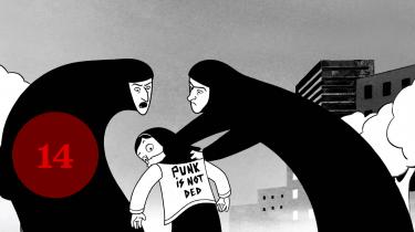 Persepolis er baseret på forfatter og instruktør Marjane Satrapis selvbiografiske tegneserier af samme navn. Hendes egen biografi er vævet ind i verdenshistorien.