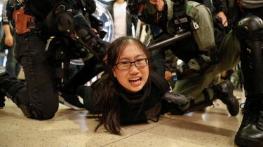 Selv hvis uroen i Hongkongs gader dør ud, vil konflikten fortsætte i årevis i retssalene.