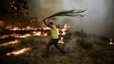 Igen i år blev blandt andet Portugal hærget af en række skovbrande. Ifølge forskerne skal vi berede os på kun at se flere og flere naturkatastrofer.