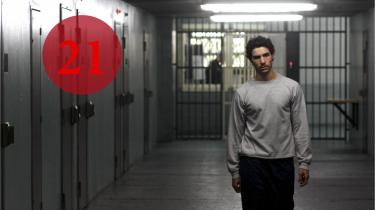Helten i 'Profeten' er den unge Malik El Djebena (Tahar Rahim). Hans dannelse begynder, da han ankommer til fængslet som 19-årig.  'Foto fra filmen