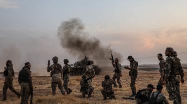 I oktober gik Tyrkiet til angreb på kurderne i Nordsyrien.