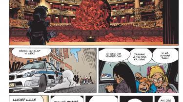 Plottet forsvinder i mystikkens tåger i bind fire og fem af den ellers spændende og gribende tegneserie om børn, der må klare sig selv fortalt i klassisk fransk-belgisk stil