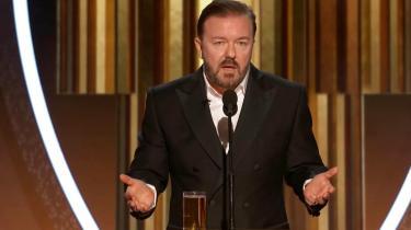 I år er en stump af Gervais' monolog gået viralt og blevet hyldet af både venstreorienterede og republikanere som en velfortjent opsang til den afsondrede Hollywoodelite.
