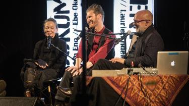Laurie Anderson, Ebe Oek og Brian Eno mødtes i København for at komponere musik i fællesskab.