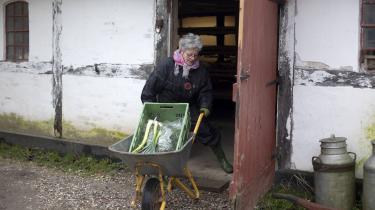 Det holder 73-årige Inga Björt Vilhjalmsdottir i gang at kunne hjælpe til, og det er en af grundene til, hun har valgt at bo på Permatopia.