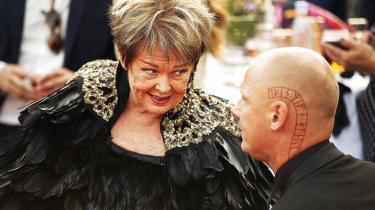 Jim Lyngvild kom veninden Ghita Nørby til undsætning, da hun af Detektor blev afsløret i at lyve om en Dirch Passer-anekdote