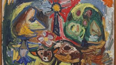 Asger Jorn, 1943, Fuglsang Kunstmuseum.