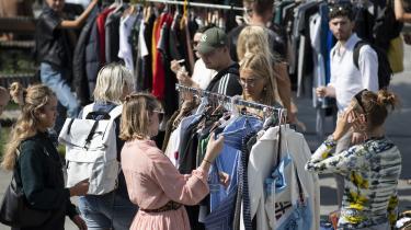 Tøj, der skifter ejere en eller flere gange, er en meget mere skånsom metode for miljøet end upcycling, skriver Susanne Nielsen.