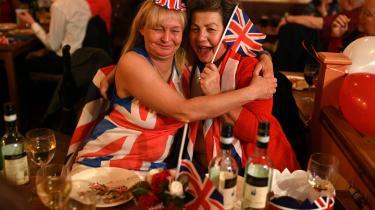 Brexit-tilhængere fejrede i weekenden, at det langt om længe lykkedes for briterne at træde ud af den Europæiske Union.
