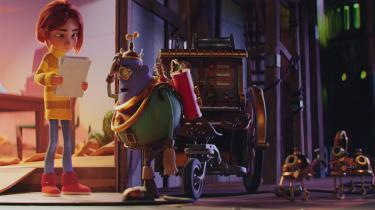 12-årige Minna og drømmebyggeren Gaff lægger skumle planer for Minnas papsøster, Jenny, i den flotte danske animationsfilm 'Drømmebyggerne'.
