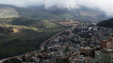 Golanhøjderne i det nordlige Syrien blev besat og siden annekteret af Israel under junikrigen 1967. Men selv om Golan af mange israelere betragtes som en del af Israel, har EU og herunder Danmark aldrig anerkendt annekteringen.
