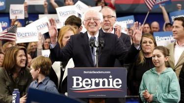For Sanders var den knebne sejr over Pete Buttigieg i New Hampshire utvivlsomt en skuffelse. Under primærvalget i 2016 slog han Hillary Clinton med hele 20 procentpoint i New Hampshire.
