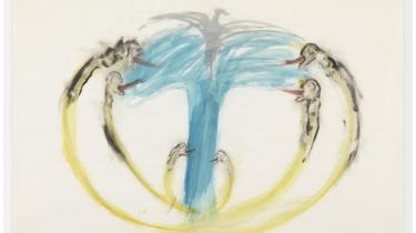 Nancy Speros 'Bomb, Dove and Victims', 1967.